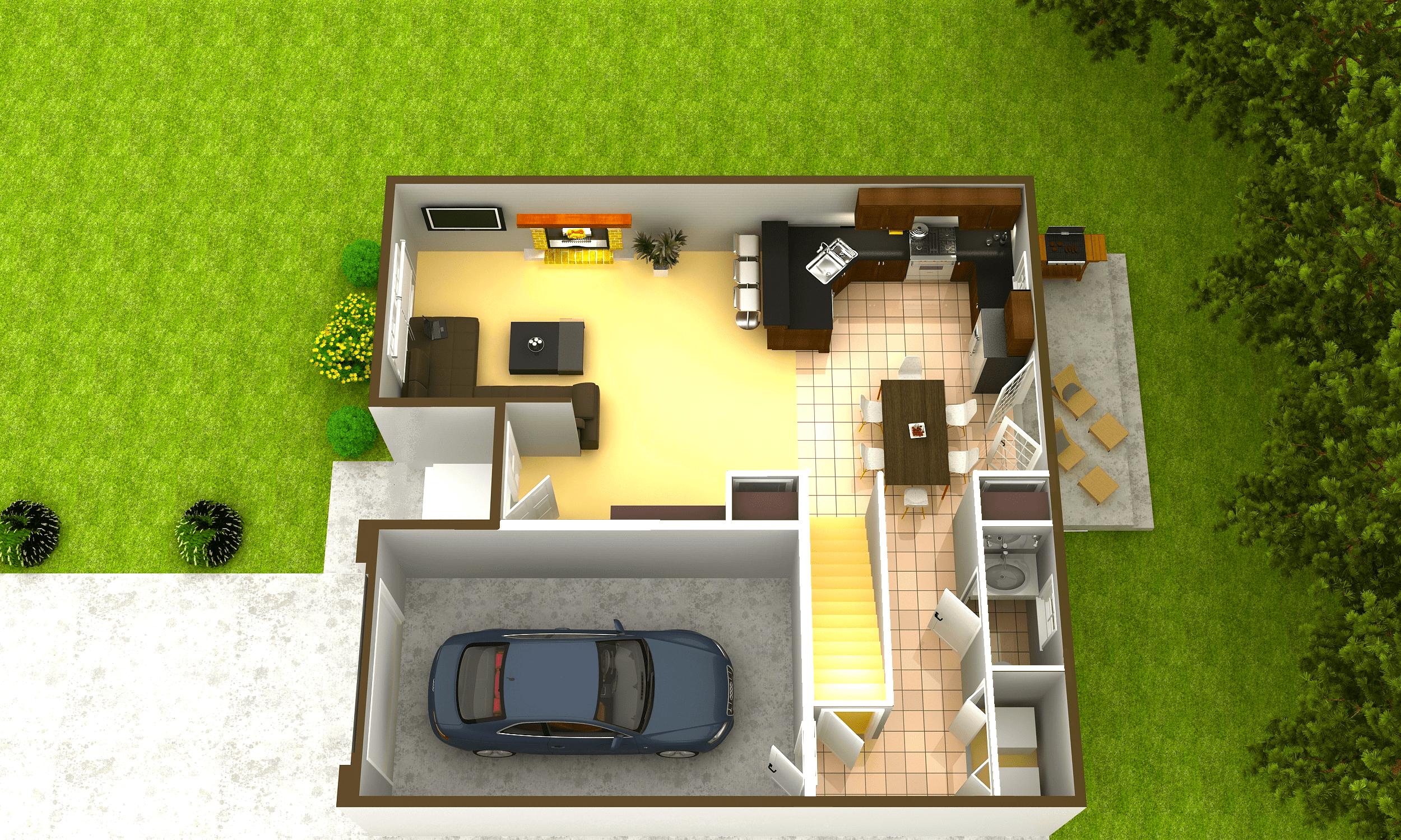 Final Rendering First Floor