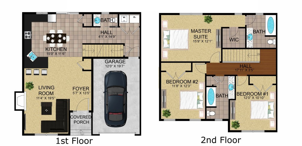 Floor Plan 2D Website